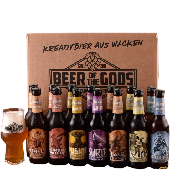 Wacken Beer of the Gods Probierset für Bierfreunde & Nordik-Fans