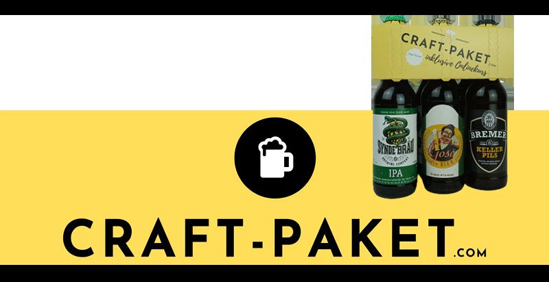 Online-Biertastings von Craft Paket sind ein tolles Biergeschenk
