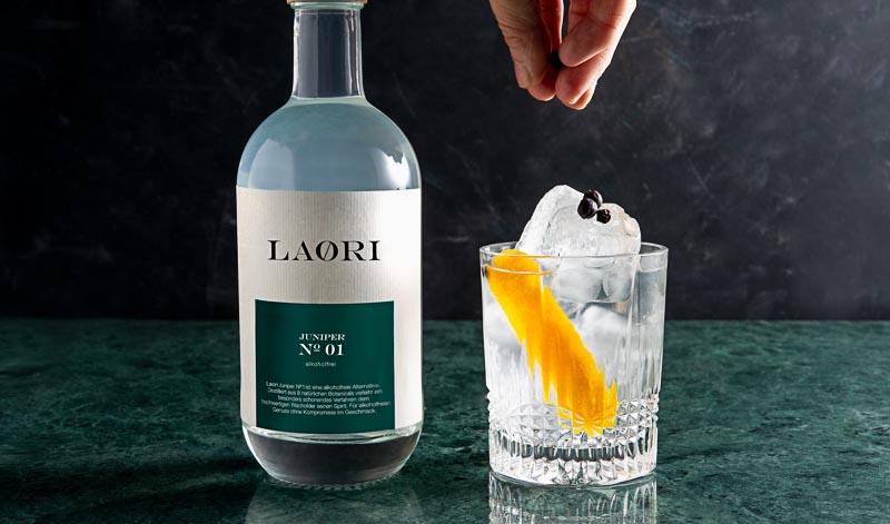 LAORI alkoholfreien Gin verschenken