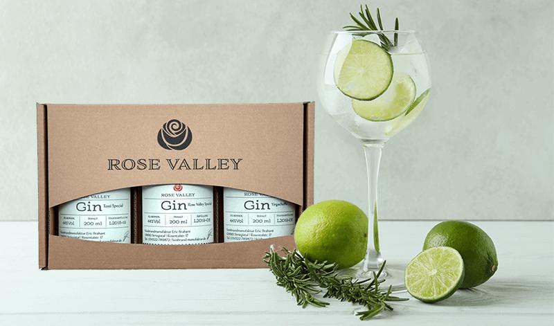 Rose Valley Gin Taste Box - tolles Gin Geschenk