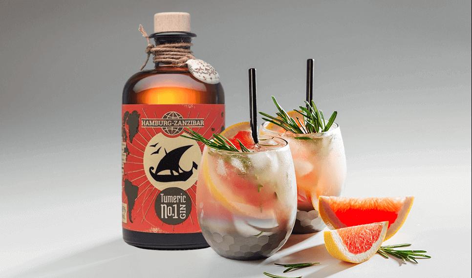 Tumeric No 1 - den besten Gin der Welt verschenken