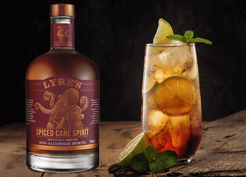 Lyre's Spiced Cane Spirit alkoholfreie Rum-Alternative als Geschenk