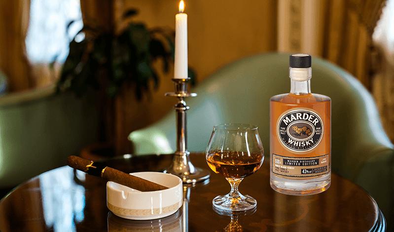 Marder Single Malt Whisky zum Verschenken