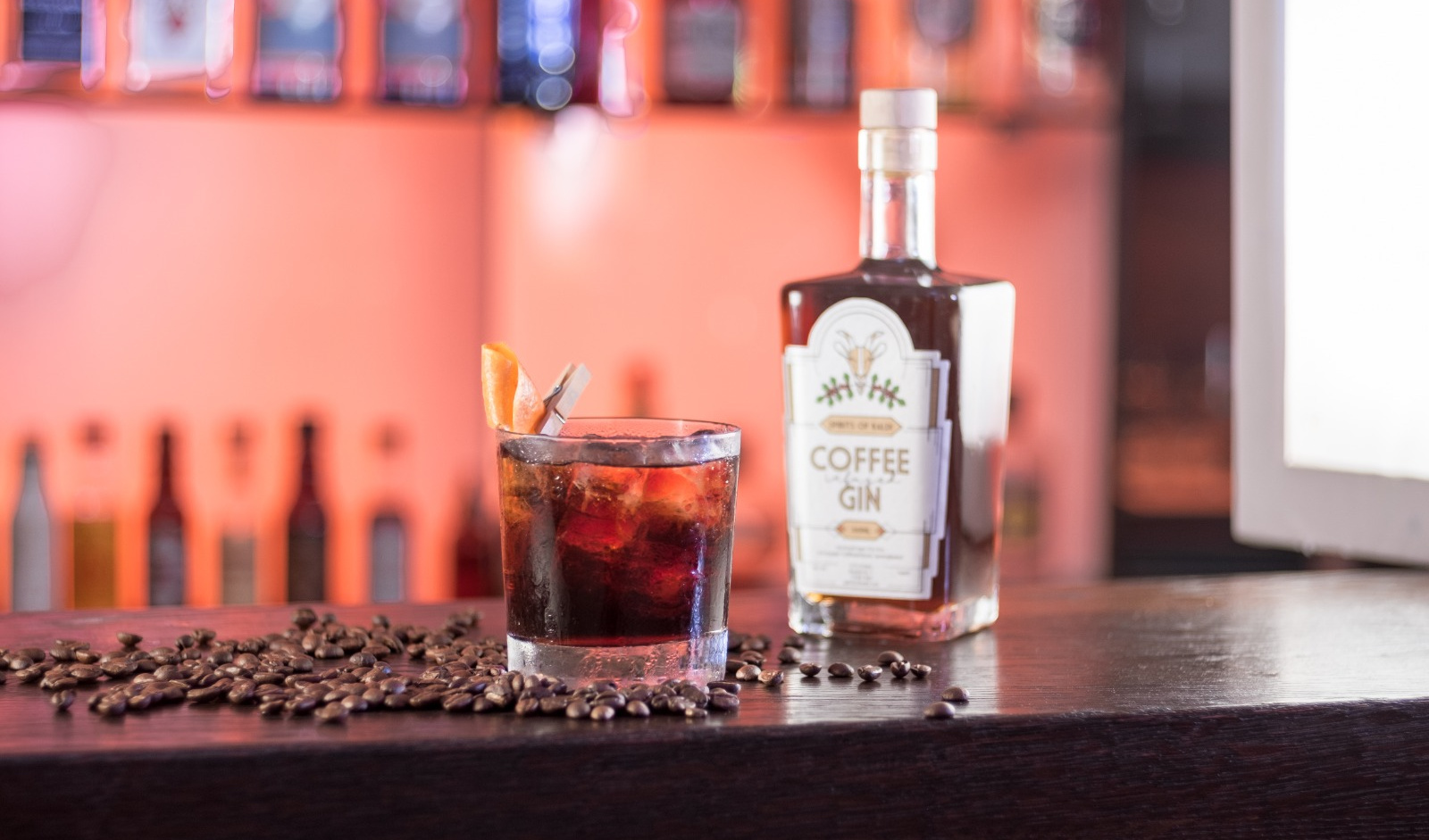 Coffee Gin als Cocktail