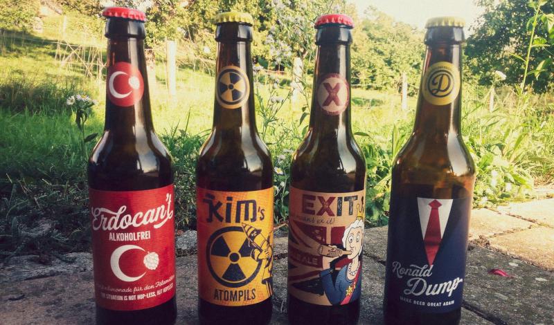 Dump Beer alle Biere gemeinsam
