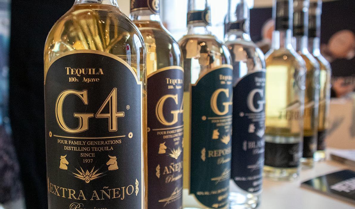 G4 Tequila Beautyshot