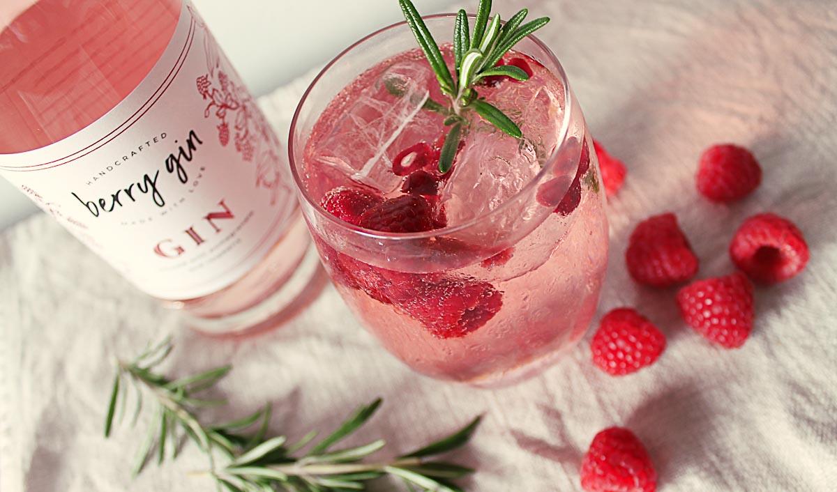 Berry Gin Beauty Shot