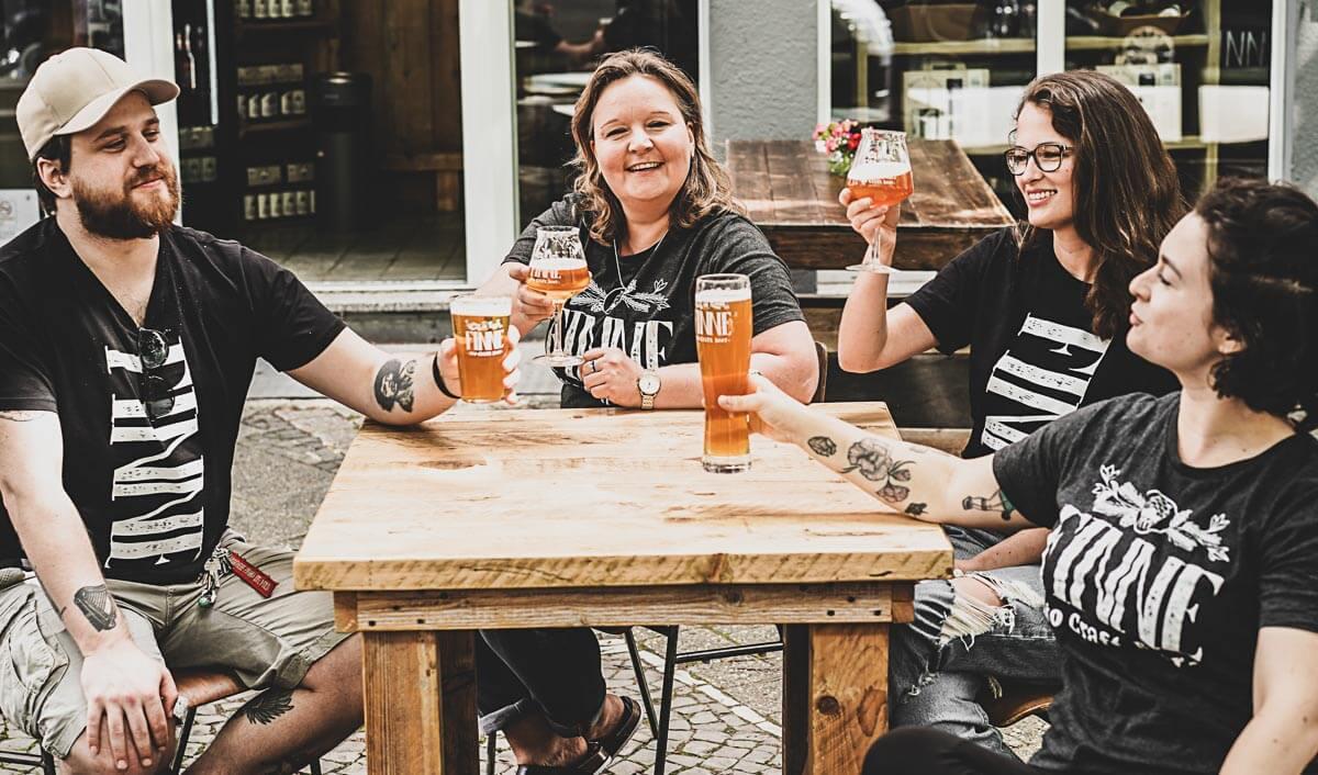 Finne Brauerei Beauty Shot