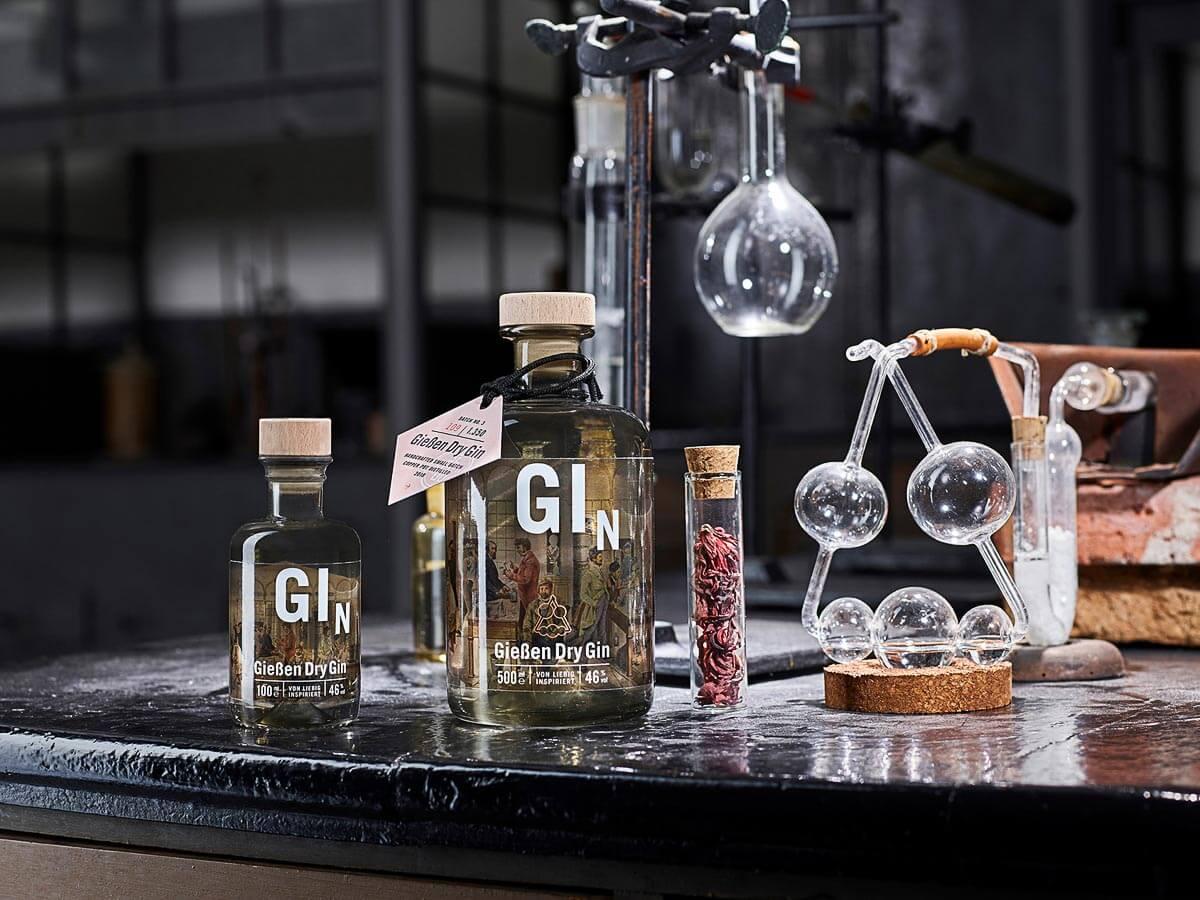 Gießen Dry Gin Beauty Shot