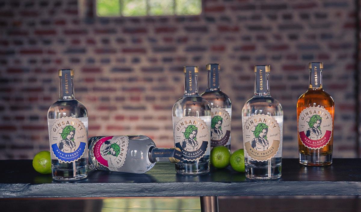 Ginsanity Navy Strength Premium Dry Gin