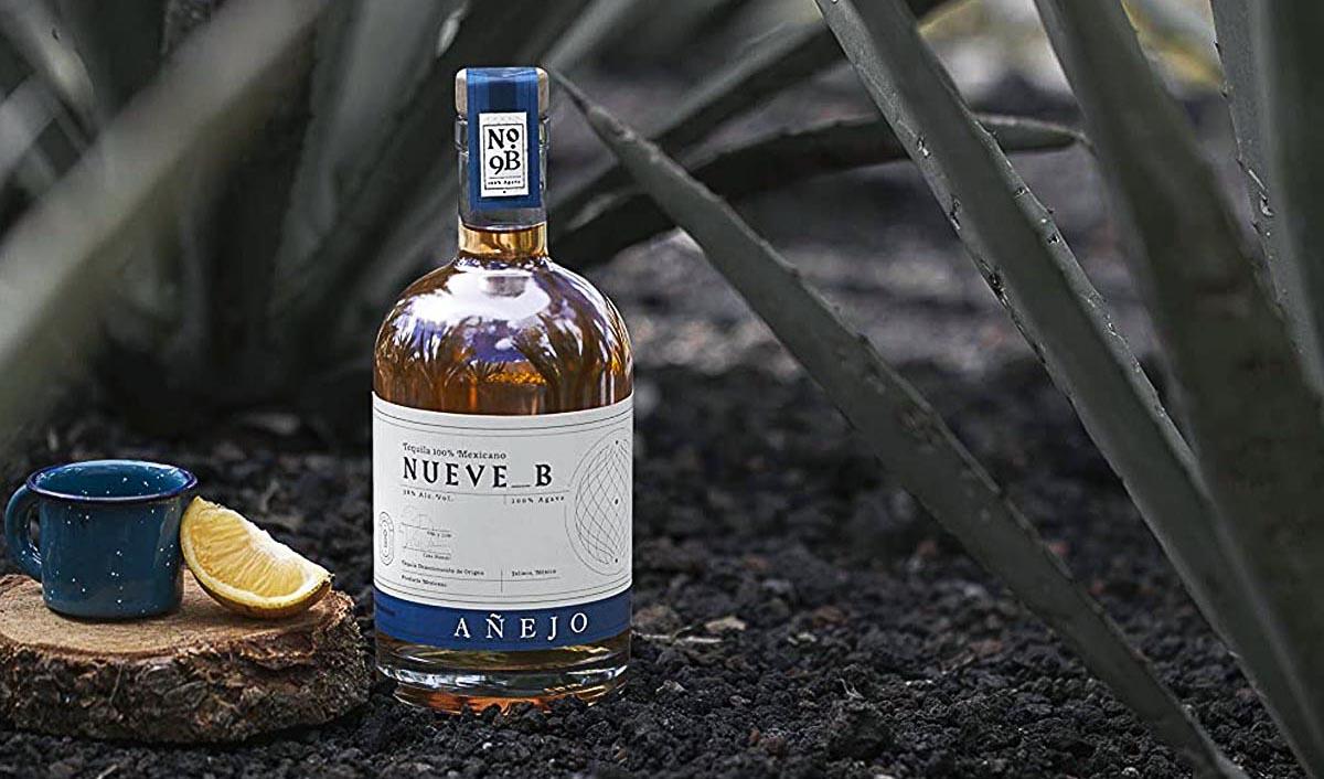 Nueve B Tequila Añejo Beauty Shot