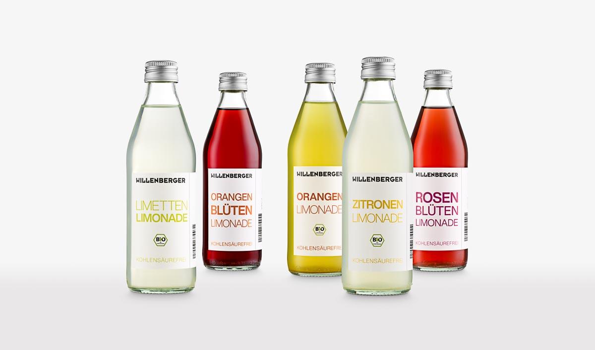 Willenberger Limonaden ohne Kohlensäure