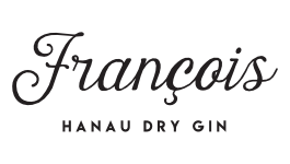 "Copyright ""Francois Hanau Dry Gin"""