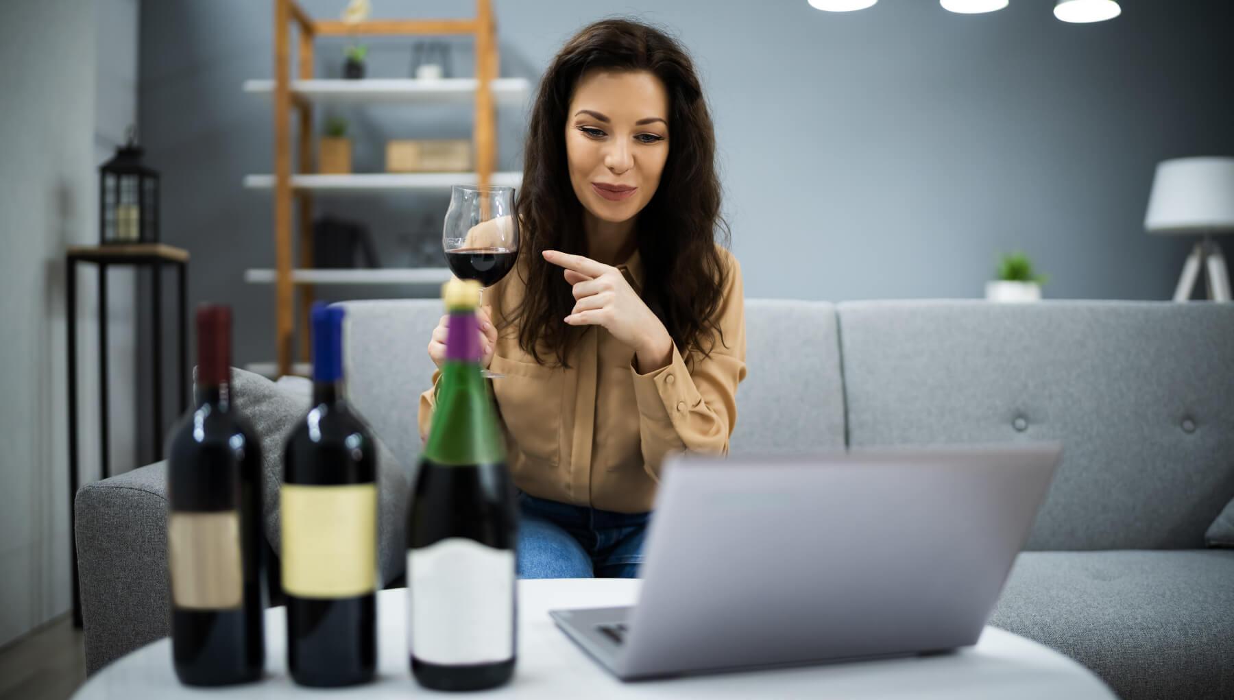 Online Tasting für Firmen Event