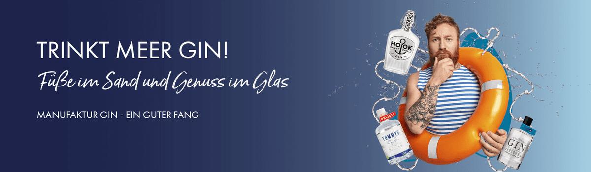 Trinkt Meer Gin - Maritime Manufaktur-Gins für den Sommer