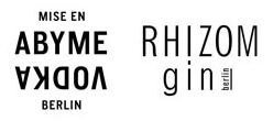 Abyme Bio Vodka & Rhizom Bio Gin Berlin