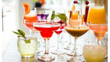 Kalorienarme Getränke mit Alkohol und alkoholfrei