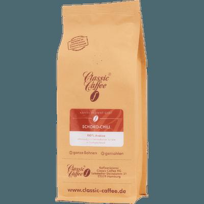 Aromatisierter Kaffee - Schoko-Chili — 500g