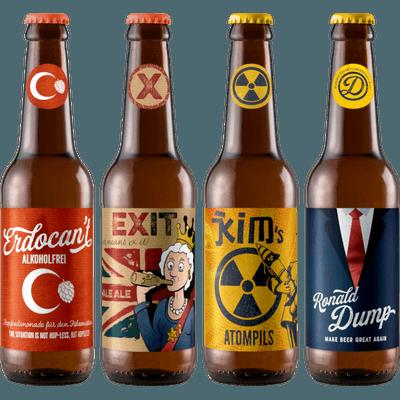 Despotenmischung von dump beer - 12x Flaschen (9x Craft Beer + 3x Hopfenlimonade)