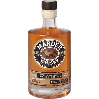 Marder Single Malt Whisky - Limited Edition 2018, 500ml
