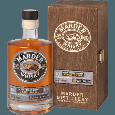 """Marder Whisky BLACK FOREST RESERVE """"Cask No.90"""""""