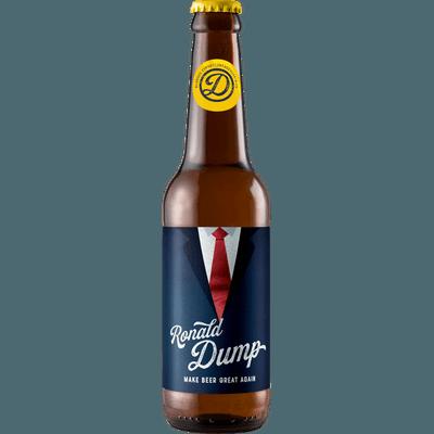 """12x """"Ronald Dump"""" Dump Beer"""