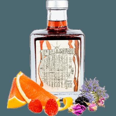 144 Raspberry Square Gin mit Botanicals