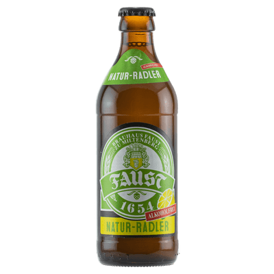 Brauhaus Faust Natur-Radler alkoholfrei