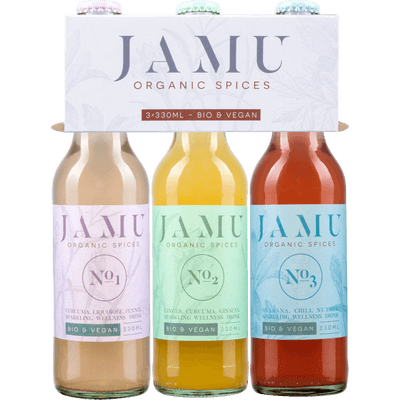Beauty & Energie Boost - 6x Limonade von Jamu