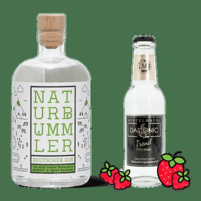 Manukat Gin & Tonic Probierset (1x Naturbummler + 3x Mistelhain DASTONIC Trend)