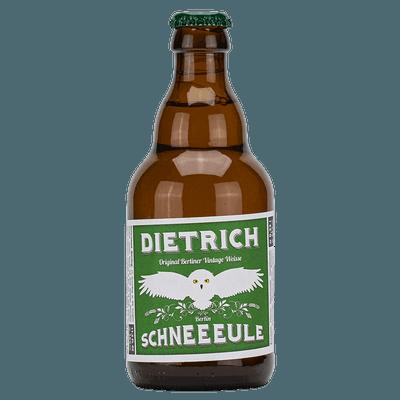 Schneeeule Dietrich Vintage Weisse
