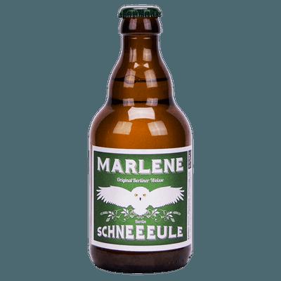 Schneeeule Marlene Original Berliner Weisse