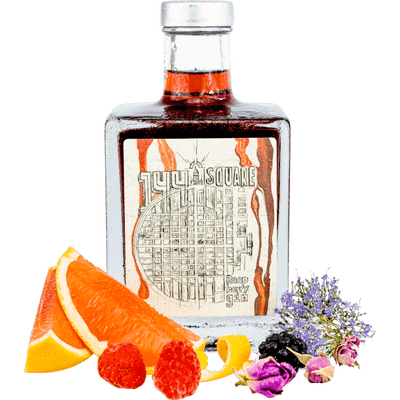 Mannheimer Ginpaket - 144 Square Mannheim Dry Gin + 144 Rasperry Square Gin