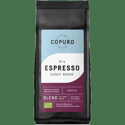 Copuro Bio Espresso Ganze Bohne