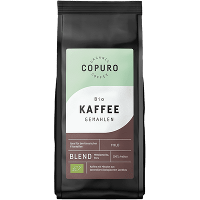 Copuro Bio Filterkaffee Mild gemahlen