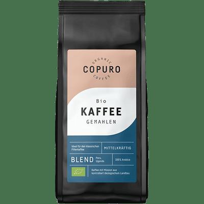Copuro Bio Filterkaffee Mittelkräftig gemahlen