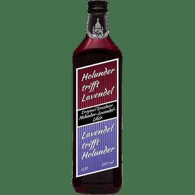Likörium Original Dresdner Holunder-Lavendel Likör