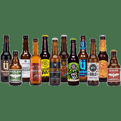 Deutsche Brauereien Premium Paket (12x Craft Bier á 0,33 l)