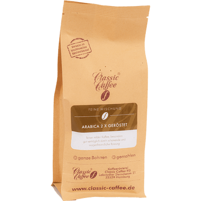 Kaffee Arabica - 2x geröstet
