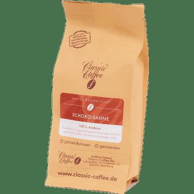 Aromatisierter Kaffee - Schoko-Sahne