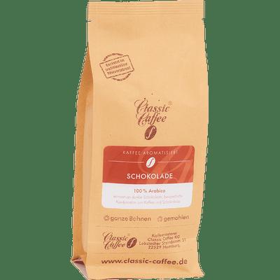 Aromatisierter Kaffee - Schokolade