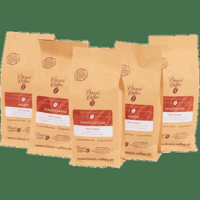 Probierpaket - Aromakaffees vol. 2 (5x 250g)