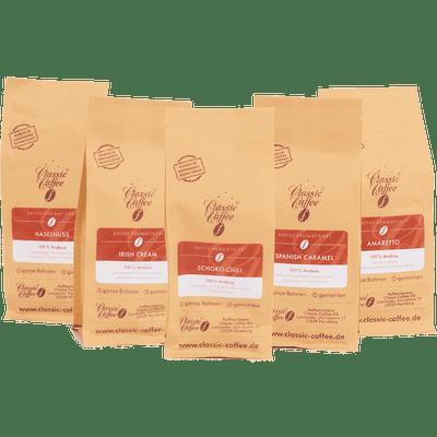 Probierpaket - Aromakaffees vol. 1 (5x 250g)