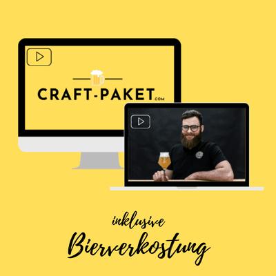 Craftpaket Bier Online Tasting zuhause