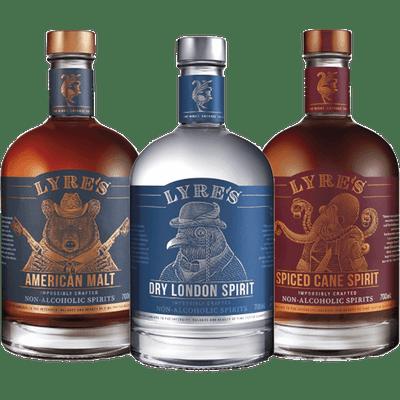 Lyre's Alkoholfreie Spirituosen Probierpaket - Basics