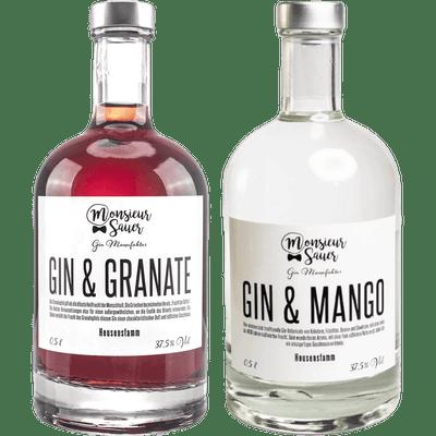 Gin Fruchtpaket - Gin & Granate + Gin & Mango