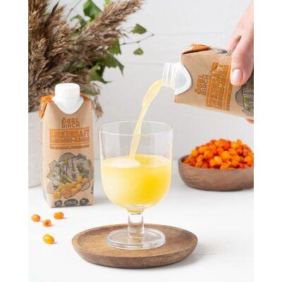 8x Bio-Birkensaft Sanddorn/Ananas Beautybild