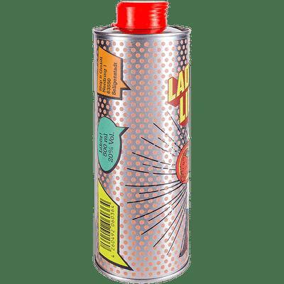 Lady Limes | Erdbeer Limes | Superhero Spirits | Flasche Seite 1