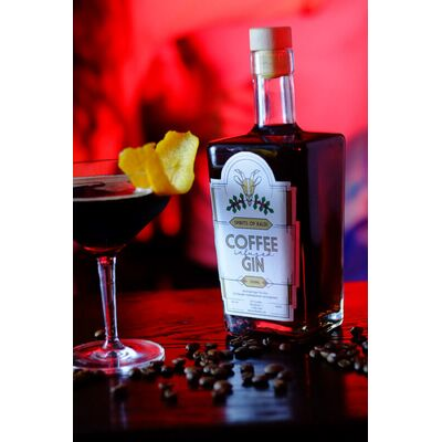 Coffee Gin Beauty Shot
