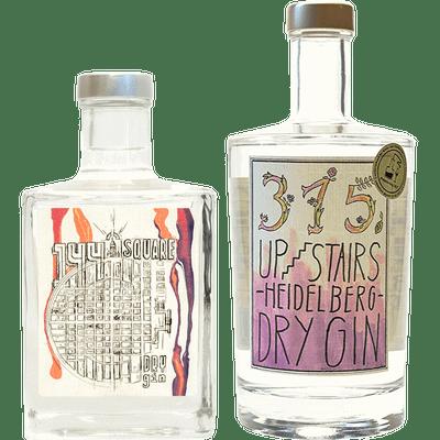 Upstairs Ginpaket - Dry Gin Set (Square Mannheim Dry Gin + Heidelberg Dry Gin)